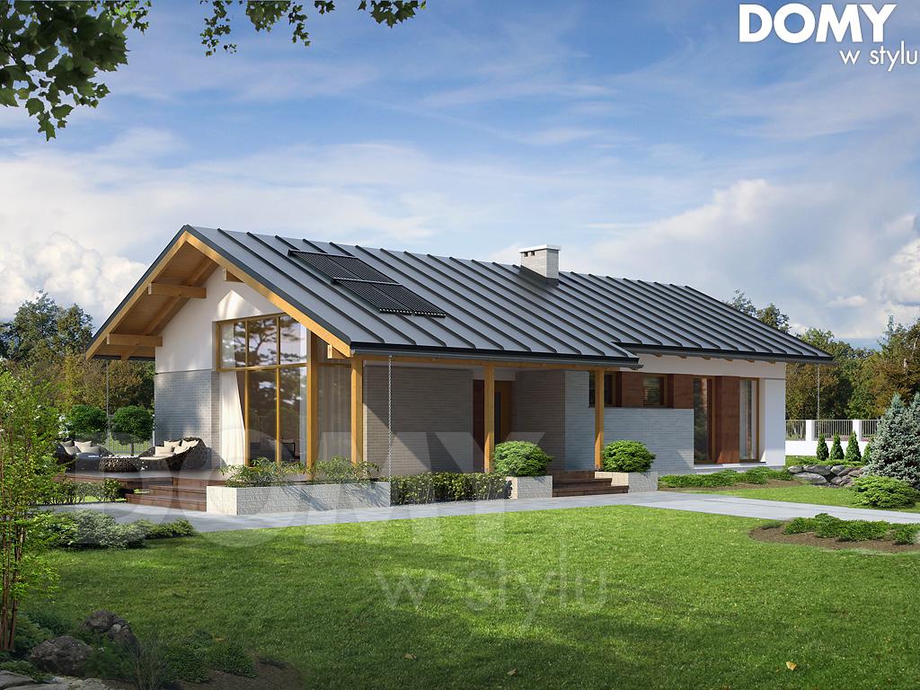 Projekty Domów Parterowych Projekty Domów Dla Wymagających